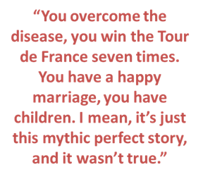 Lance Armstrong Hero Quote